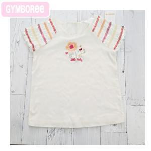 ジンボリー 正規アウトレット品 Gymboree -4 袖の刺繍が可愛いナチュラルテーストのトップス(3歳 3才 3T 4歳 4才 4T 女の子用)(100cm 110cm 120cm) 10  GYM-TOP|cherie-box