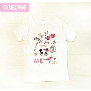 ジンボリー正規アウトレット品(Gymboree-2)かわいいパンダ柄の白の半袖トップス Tシャツ(NB 3M 6M 9M 12M 18M 新生児 3か月 6ヶ月 9ヶ月 12ヶ月 18ヶ月 1歳 1才|cherie-box