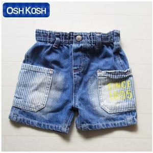 オシュコシュ正規品(OshKosh)ポケットとアップリケがかっこいいデニムのショートパンツ (1歳 1才 18M 2歳 2才 24M 2T 3歳 3才 3T 4歳 4才 4T 男の子用 子供)(80c|cherie-box