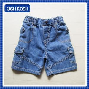 オシュコシュ正規品(OshKosh)かっこいいデニムのハーフパンツ 夏らしいカラーで着回し抜群 (1歳 1才 18M 2歳 2才 24M 2T 3歳 3才 3T 4歳 4才 4T 男の子用 子供)( cherie-box