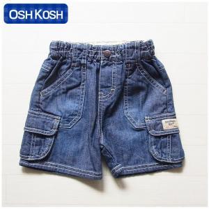 オシュコシュ正規品(OshKosh)おしゃれなポケットが付いたデニムのハーフパンツ (1歳 1才 18M 2歳 2才 24M 2T 3歳 3才 3T 4歳 4才 4T 男の子用 子供)(80cm 90cm 9|cherie-box