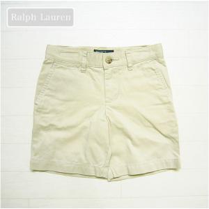 ラルフローレン(Ralph Lauren-2)正規品シンプルでかっこいいベージュのハーフパンツ。フォ...