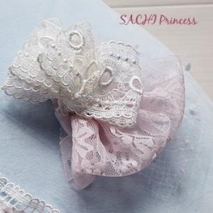 オーダーメイド犬服ドレス-プリンセスの髪ヘッドアクセサリー