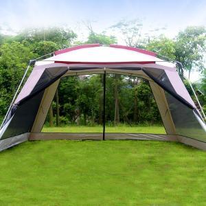 テント 5〜8人 大型 キャンプ アウトドア ロッジ スリーシーズン 防水