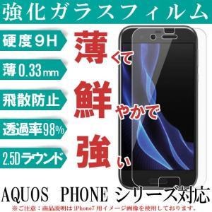 AQUOSシリーズ ガラスフィルム SHV40/SH-01K...