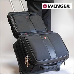 ビジネスバック ウェンガー WENGER 特別セット豪華2点セット/2PC PCケース&ローリングケース|cherrybell