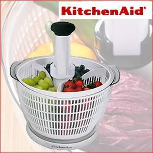 サラダスピナー キッチンエイド サラダ 簡単にサラダやフルーツの水きりができます|cherrybell