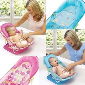 赤ちゃんの入浴用に最適♪ 日本育児 ソフトバスチェア ベビーバスチェア