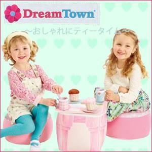 Dream Town ドリームタウンシリーズ ティータイム プレイハウス ピンク おままごと  10P09Jan16|cherrybell