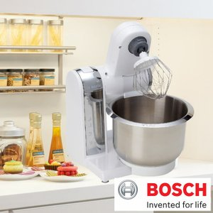 BOSCH ボッシュ コンパクト キッチンマシン スタンドミキサー  パン捏ね器 ミキサー 撹拌器  電動ミキサー 電動捏ね器 3.9L 100V|cherrybell