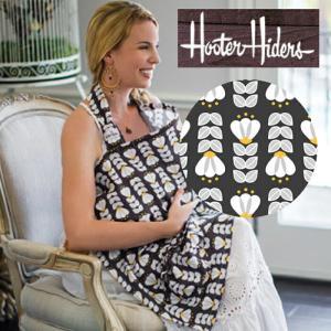 ネコポス・代引き不可 ベベオレの姉妹ブランド Hooter Hiders フーターハイダース(授乳カバー) tulipa チューリップ ポケット|cherrybell