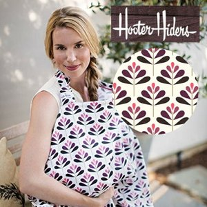 ネコポス・代引き不可 ベベオレの姉妹ブランド Hooter Hiders フーターハイダース(授乳カバー) Verbena バーベナ ポケット|cherrybell