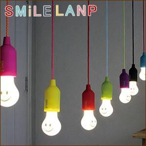 スマイルランプ LEDライト 電球型 LEDランプ ライト 電池式ライト Glamping グランピング|cherrybell