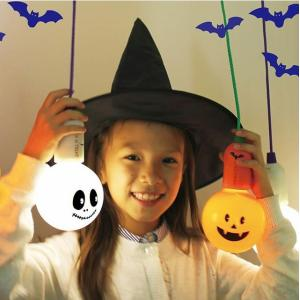 ハロウィン ハロウィン雑貨 ハロウィン特集 ジャックランタン ハロウィングッズ  スマイルLEDランプ スマイル ロープランプ ledランプ 電池式 スマイル 非常用|cherrybell