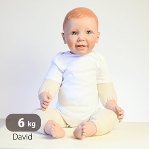 赤ちゃん人形 ダミードール 特大サイズ 6kg 28インチ 71cm リサボバ 等身大 実習 練習 実演用 店頭試着 実際の重さ cherrybell