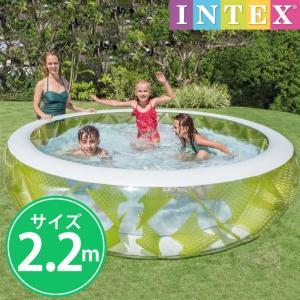 INTEX インテックス 円型 透けちゃうプール INTEX ビニールプール ピンウィールプール  水あそび レジャープール 家庭用プール cherrybell