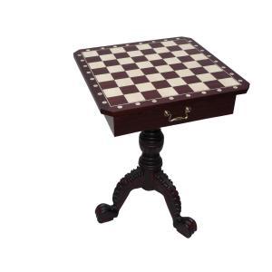 チェステーブル 全高75cm チェス盤54cm ポーランド直送|chessjapan