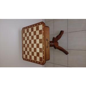 チェステーブル 全高74cm チェス盤54cm ポーランド直送|chessjapan