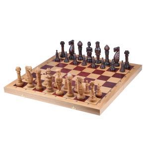 チェスセット 木製 オーク 65cm ポーランド直送|chessjapan