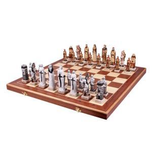 チェスセット 木製 グルンヴァルト 60cm ポーランド直送|chessjapan