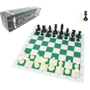 スタンダードチェスセット ナショナル 43cm グリーン ライト