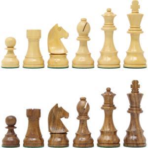 チェス駒 トーナメント 96mm 日本チェス連盟公式用具|chessjapan