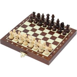 チェスセット 木製 コンパクト 20cm 磁石式|chessjapan