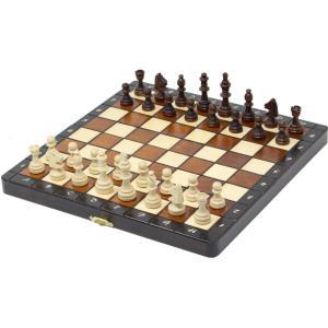 チェスセット 木製 プレミアムマグネティック 27cm 磁石式|chessjapan