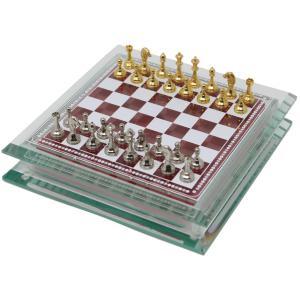 Italfama ガラスのチェスセット 16cm|chessjapan