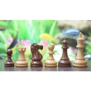 チェス駒 レイキャビク 96mm アカシア インド直送|chessjapan