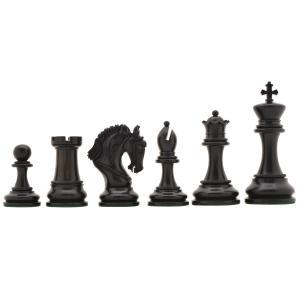 チェス駒 エクスカリバー 118mm 黒檀 インド直送|chessjapan