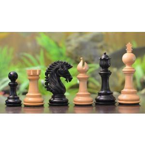 チェス駒 アパッチ 114mm 黒檀 インド直送 chessjapan