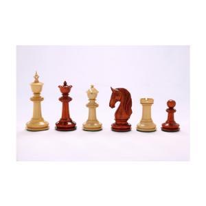 チェス駒 ブラックバーン 117mm バドローズ 収納箱付属 インド直送 chessjapan
