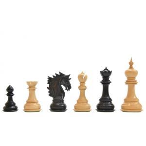 チェス駒 シャー 117mm 黒檀 インド直送 chessjapan