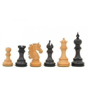チェス駒 アドミラル V2 114mm 黒檀 インド直送 chessjapan