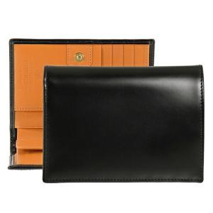 エッティンガー ETTINGER 財布 メンズ 二つ折り財布 ブラック 黒 ブライドルレザー PUR...