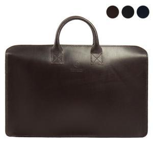 【ZIP TOP CASE】シンプルで洗練されたデザインのブリーフケース。上質なブライドルレザーを使...