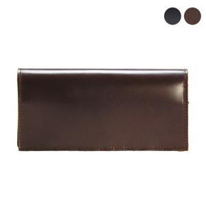 【LONG WALLET with ZIP】洗練されたデザインの長財布。札入れがない分薄くシンプルな...