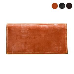 【LARGE WALLET】洗練されたブライドルレザーの長財布。お札とカードの収納がメインなのでスッ...