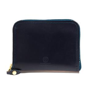 【ZIP AROUND SMALL PURSE】コンパクトサイズのラウンドファスナー財布。ジッパー付...