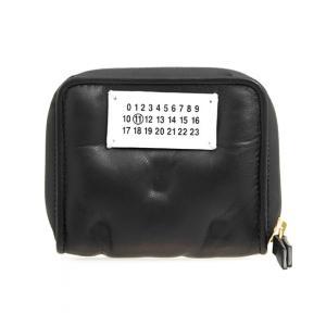 cb15fde2e04e メゾンマルジェラ MAISON MARGIELA 財布 レディース 二つ折り財布 ブラック 黒 GLAM SLAM S56UI0112 P1965  T8013 BLACK