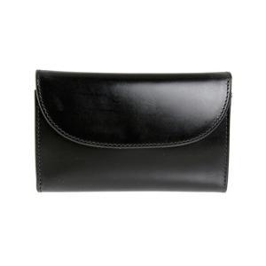 【THREE FOLD PURSE】シンプルで上品なレザー折財布。男女ともに支持されている人気モデル...
