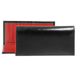【LONG WALLET】シンプルで上品なレザー長財布。素材のブライドルレザーは、はじめこそ硬さを感...