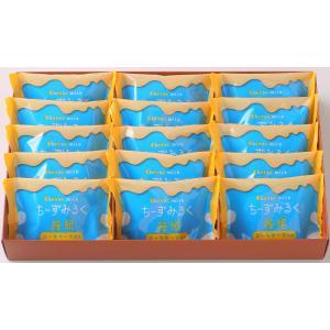 ちーずみるく饅頭 15個入|chiba-orandaya