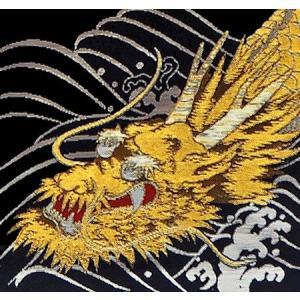 高田屋オリジナル 名前旗 小 金襴 龍の舞 金刺繍 五月 端午 chiba-takadaya 03