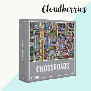 クラウドベリーズ ジグソーパズル 1000ピース 都市計画 パズル 1000ピース 大人向けパズル 正規輸入品 chibamart