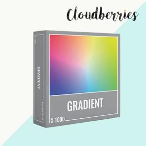 クラウドベリーズ ジグソーパズル 1000ピース グラディエント パズル 1000ピース 大人向けパズル 正規輸入品 chibamart