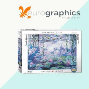 Eurographics ユーログラフィックス ジグソーパズル モネ 睡蓮 6000-4366 ジグソーパズル 1000ピース パズル おしゃれ chibamart