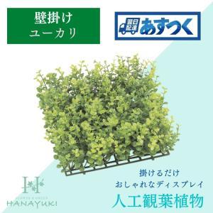 人工観葉植物 壁掛け ユーカリ フェイクグリーン 壁掛け ウォールグリーン 観葉植物 壁掛け 壁面 壁掛け観葉植物 ガーデン 人工芝 HANAYUKI|chibamart