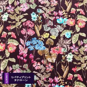 リバティ タナローン 2020ss Poet's Meadow ポエッツメドゥ えんじ 363011...